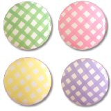 Simply Gingham Drawer Knobs