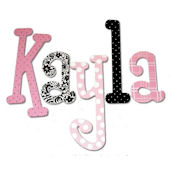 Kayla Pepper  Hand Painted Wall Letters