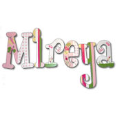 Mireya Delight Hand Painted Wall Letters