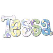 Tessas Garden Hand Painted Wall Letters
