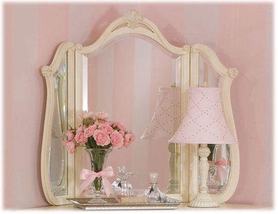 Romance Tri Fold Mirror The Frog And The Princess