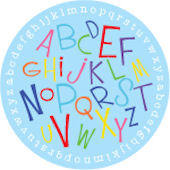 Boys Alphabet Soup  Personalized Dinnerware