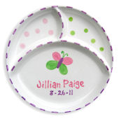 NEW Butterfly Personalized Plate