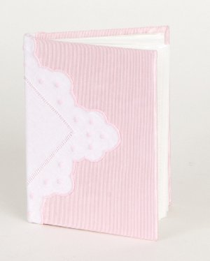 Little Diva Pink Hanky Photo Album Book