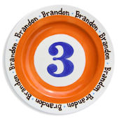 My Age Birthday Boy Personalized Plate