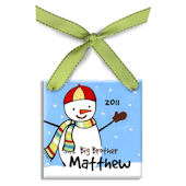Big Brother Personalized Ornament