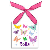 Fluttering Butterflies  Personalized Ornament