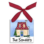 Home For The Holidays  Personalized Ornament
