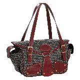 Mia Bossi Maria Black Cherry Diaper Bag