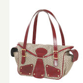 Maria Red Pepper Diaper Bag