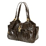 Mia Bossi Caryn Fudge Diaper Bag