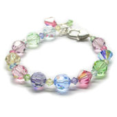 Childrens Multi Color Pastel Bracelet