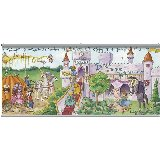 Once Upon a Time  Fairy Tales Wall Minute Mural