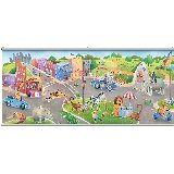 Safari Friends Wall Minute Mural