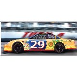 Stock Car Racing Wall Minute Mural