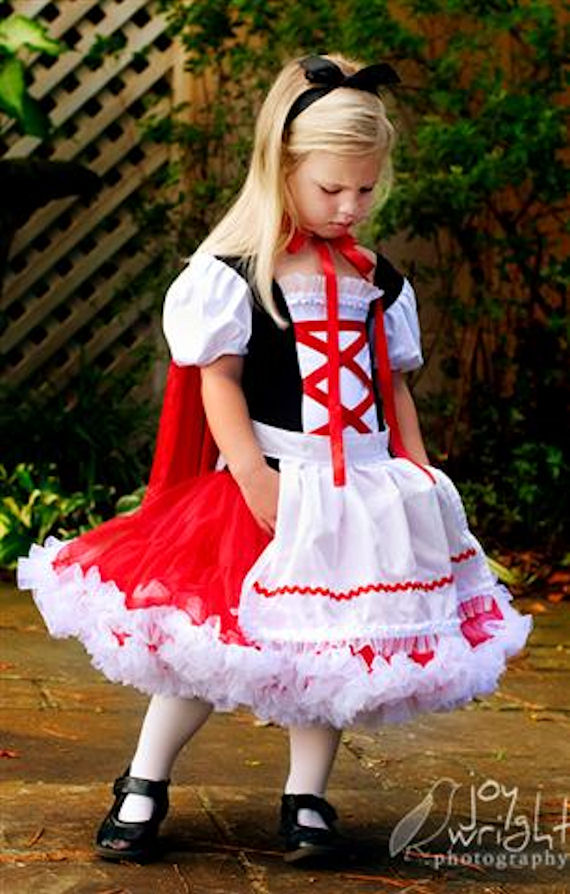 Little Red Riding Hood Pettiskirt Dress The Frog And The