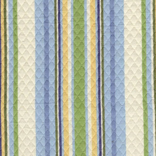 New Arrivals Quilted Sky Blue Stripe Fabric