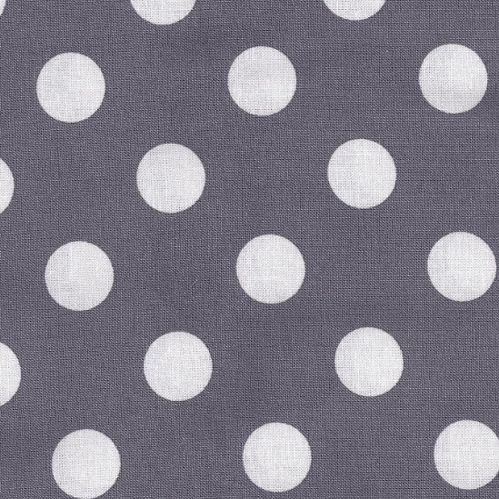 New Arrivals Vintage Gray Dottie Fabric