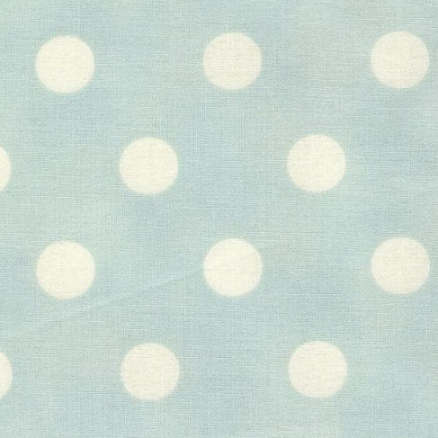 New Arrivals Vintage Robin Egg Blue Dottie Fabric