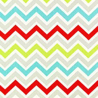 New Arrivals Zig Zag in Multi Color Fabric