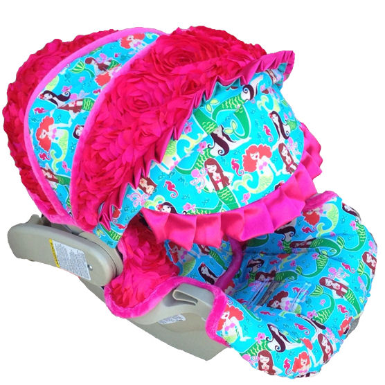Nollie Airelle Infant Car Seat Cover The Frog And The
