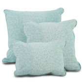 Oilo Aqua Raindrops  Pillows