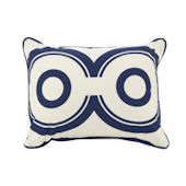 Oilo Cobalt  Wheels Pillow