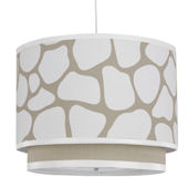 Oilo Cobblestone Taupe Double Cylinder Light