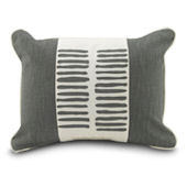 Oilo Pewter Sticks Pillow