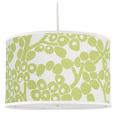 Spring Green Modern Berries Large Cylinder Light