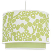 Spring Green Modern Berries Double Cylinder Light