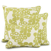 Oilo Spring Green Modern Berries  Pillows