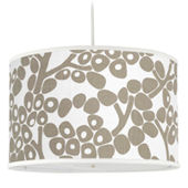 Oilo Taupe Modern Berries Large Cylinder Light