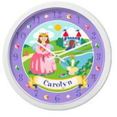Olive Kids Happily Ever After Personalized Clock