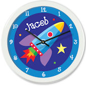 Olive Kids Out Of This World Personalized Clock