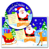 Olive Kids Christmas Meal Time Plate Set