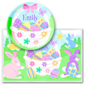 Olive Kids Easter Bunny Meal Time Plate Set