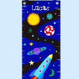 Out of This World Personalized Growth Chart