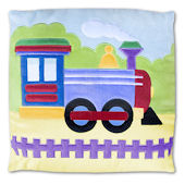 Olive Kids Trains Planes And Trucks Pillow