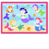 Olive Kids Mermaid Rug