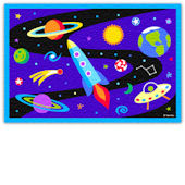 Olive Kids Out Of This World Rug