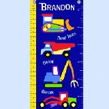 Under Construction Personalized Growth Chart