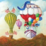 Antique Balloon Goose Wall Art