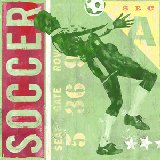 Game Ticket  Soccer Wall Art