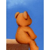 Bare Bottom Bear Wall Art