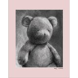 Charcoal Bear Multiple Color Borders