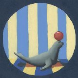 Circus Seal Wall Art