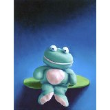 Floppy Froggy Wall Art