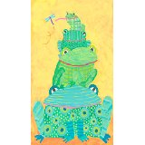 Frog Stack Wall Art