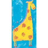 Giraffe and Birds Wall Art